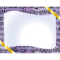 H-VA643 - Music Certificate Border Computer Paper in Design Paper/computer Paper