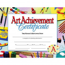 H-VA670 - Certificates Art Achievement 30 Pk 8.5 X 11 Inkjet Laser in Art