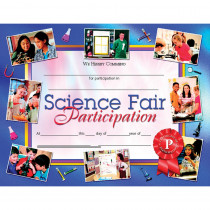 H-VA672 - Science Fair Participation 30Pk 8.5 X 11 Certificates Inkjet Laser in Science