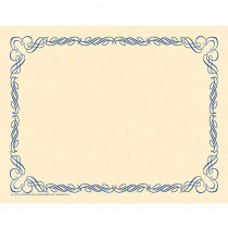 H-VA911 - Arabesque Border Paper Blue in Design Paper/computer Paper