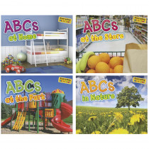 HE-9781410947383 - Abcs Alphabet Books Set Of All 4 in Learn To Read Readers