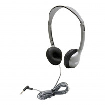 HECMS2L - Personal Stereo Mono Headphones Leatherette Ear Cush W/O Volume in Headphones