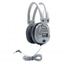 HECSC7V - Deluxe Stereo/Mono Headsets 1/8Plus & 1/4Adapter With Volume Control in Headphones