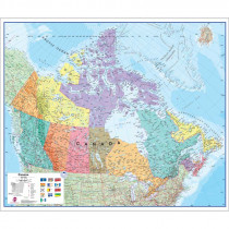 HEMMICANBO - Canada Laminated Map in Maps & Map Skills