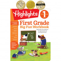 Big Fun Workbooks, First Grade - HFC9781629798646 | Highlights For Children | Skill Builders