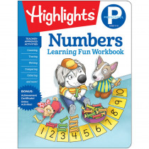 Learning Fun Workbooks, Preschool Numbers - HFC9781684372805 | Highlights For Children | Numeration