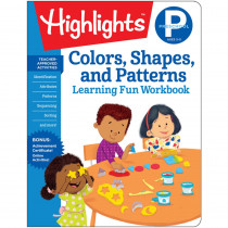 Learning Fun Workbooks, Preschool Colors, Shapes & Patterns - HFC9781684372829 | Highlights For Children | Patterning