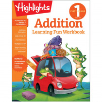 Learning Fun Workbooks, First Grade Addition - HFC9781684379262 | Highlights For Children | Addition & Subtraction