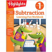 Learning Fun Workbooks, First Grade Subtraction - HFC9781684379279 | Highlights For Children | Addition & Subtraction