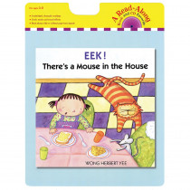 HO-9780544022829 - Eek Theres A Mouse In The House Carry Read Along Book & Cd in Book With Cassette/cd