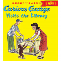 HO-9780544114500 - Curious George Visits The Library in Classics