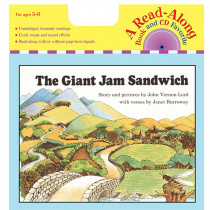 HO-9780618839520 - Carry Along Book/Cd The Giant Jam Sandwich in Book With Cassette/cd