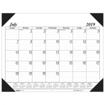 HOD12502 - Academic Economy Desk Pad 14-Month Jul-Aug in Calendars