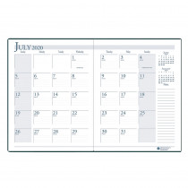HOD26104 - Academic Monthly Planner 14 Months July-August in Plan & Record Books