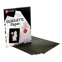 HYG14851 - Silhouette Paper 25 Shts Per Pk 8 1/2 X 11 in Craft Paper
