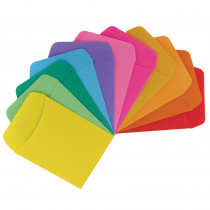 HYG15631 - Bright Library Pockets 300Ct Asst Colors in Library Cards