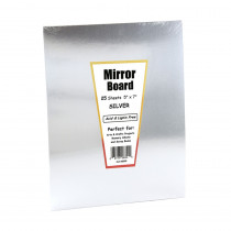 HYG28355 - Mirror Board 5 X 7 25 Sheets in Mirrors