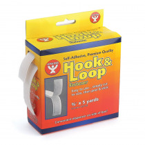 HYG45105 - Hook & Loop Fastener Roll 3/4X5yd in Velcro