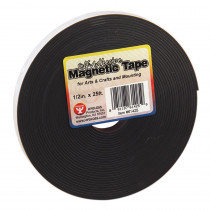 HYG61425 - Magnetic Tape 1 / 2 X 25 Self Adhesive in Tape & Tape Dispensers