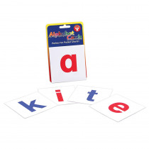 HYG61493 - Alphabet Cards A-Z Lower Case Letters in Letter Recognition