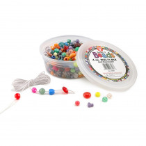 HYG6826 - Bucket O Beads 4Oz Multi-Mix in Beads