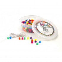 HYG6832 - Neon Barrel Beads in Beads