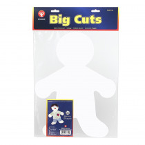 HYG68355 - Big Cut-Outs 16In Me Kid White in Accents