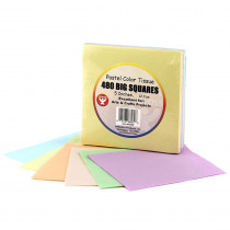 HYG88269 - 5In Tissue Squares Pastel 480 Pcs. in Tissue Paper