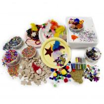 Collage Treasure Craft Box - HYG9904 | Hygloss Products Inc. | Art & Craft Kits