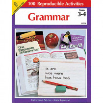 IF-8730 - Grammar Gr 3-4 100+ in Grammar Skills