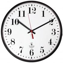 ILC67300002 - 12.75In Blk Slimline Clock Std Num 12In Dial Quartz Movement in Clocks
