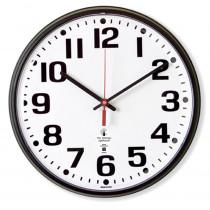 ILC67300300 - 12.75In Black Atomic Clock Bold Num Radio Control Movement in Clocks