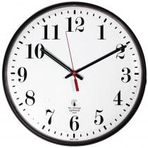 ILC67300302 - 12.75In Black Atomic Clock Std Num Radio Control Movement in Clocks