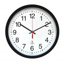 ILC67400003 - 16.5In Blk Contem Clock 14.5In Dial Quartz Movement in Clocks