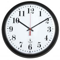 ILC67700002 - 13.75In Blk Contract Clock Std Num 12In Dial Quartz Movement in Clocks