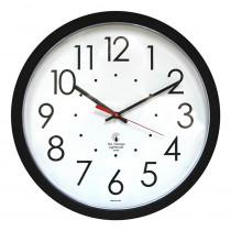 ILC67800603 - 14.5In Black Selfset Clock Std Dial Auto Change Seasons in Clocks