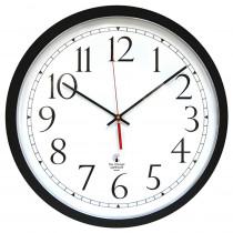 ILC67800613 - 14.5In Blk Selfset Clock Track Dial Auto Change Seasons in Clocks