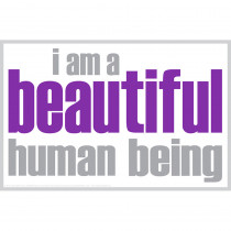 ISM0004P - I Am Beautiful Poster in Inspirational