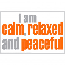 ISM0017P - I Am Calm Poster in Inspirational