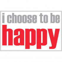 ISM0027P - I Choose To Be Happy Poster in Inspirational