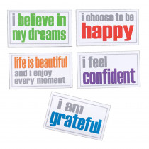 Confidence Magnets, Pack of 5 - ISM52356M | Inspired Minds | Magnetism