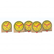 J-209041 - Original Mini Clocks 12-Pk Wood in Time