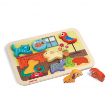 JND07024 - Pets Chunky Puzzle in Wooden Puzzles