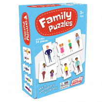 Family Puzzles - JRL246 | Junior Learning | Puzzles