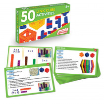 JRL324 - 50 Link Cube Activities in Manipulative Kits