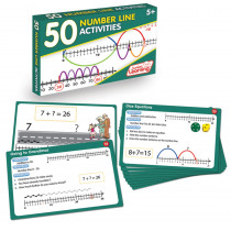 JRL325 - 50 Number Line Activities in Numeration
