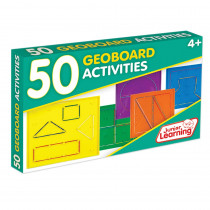 JRL342 - 50 Geoboards Activities in Manipulative Kits