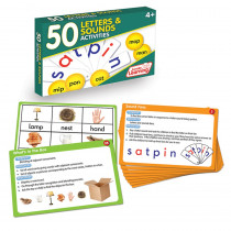 JRL353 - Lang Arts Activity Cards Letters And Sounds in Letter Recognition