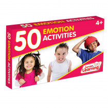 JRL357 - 50 Emotion Activity Cards in Character Education