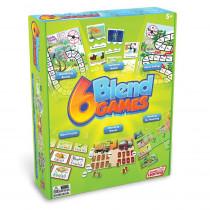 6 Blend Games - JRL410 | Junior Learning | Language Arts